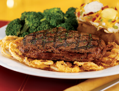 GUINNESS® Glazed Top Sirloin