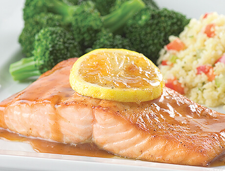 Grilled Seaside Salmon